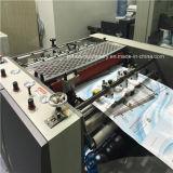 El alto rodillo de papel hidráulico semi automático de Quanlity/engoman/la película de Glueless BOPP/la máquina termal/caliente de la laminación (el laminador)