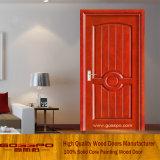 Porta de madeira interior simples do MDF de Desing (GSP6-010)