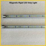 DC12V Luz magnética de prateleira rígida LED para lojas de supermercados Exibições