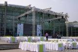 Sistema del braguero para la demostración de la exposición del acontecimiento de la boda