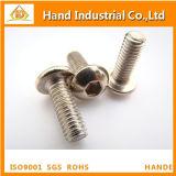 熱い販売ISO7380 M8*75のステンレス鋼ボタンヘッド十六進ソケットねじ