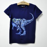 형식 인쇄를 가진 여름 동안 아이 t-셔츠