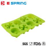 Forma de la manera DIY creativo Esqueleto Big Ice Cube bandeja molde del hielo del silicón de la plaza