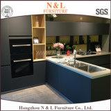 N&L標準的なMDF白いPVC食器棚
