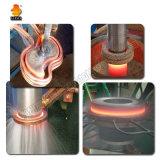 Máquina de calefacción de alta frecuencia de inducción con la unidad de endurecimiento vertical para el engranaje axial