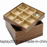 Organizador de la joyería para las bandejas del almacenaje del cajón y de la joyería
