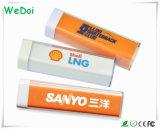 Lápiz labial de promoción de Banco de potencia con 1 año de garantía de bajo coste (WY-PB05).