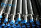Acero inoxidable semi-prensado de tubos y aletas