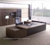 Chef de salle Executive L en forme de bureau en bois (HF-SI0563)