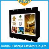 Лифт замечания стекла хорошего качества Sightseeing панорамный без комнаты машины