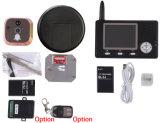Telefone video sem fio da porta de um Peephole de 3.5 polegadas