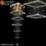 Lampade di cristallo moderne di illuminazione LED del lampadario a bracci del LED per sala da pranzo Om88541