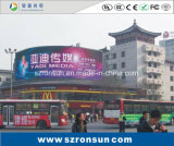 Painel publicitário publicitário P10 Display LED a cores ao ar livre