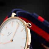 El nuevo hombre de la manera mira los relojes de los hombres de la muñeca de la correa de Nato de Nylon del tipo de Dw 72036