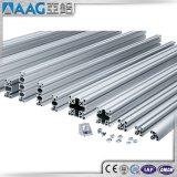 60X60 à fente en T en aluminium profilé de cadre de l'Extrusion pour 6063-T5