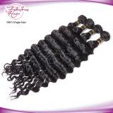 Волосы девственницы дешевой индийской оплетки волос свободные курчавые
