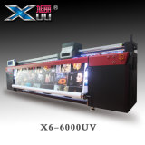 LED UV 인쇄 기계 Xuli 인쇄 기계를 구르는 큰 체재 3.2m Ricoh G5 헤드 롤