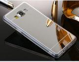 Espelho móvel TPU Galvanoplastia Caso Telefone clara para a Samsung J5