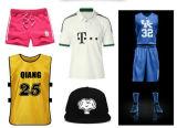 Número de etiquetas de transferência de calor para camisas Sportwear