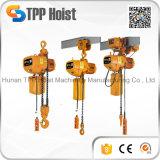 peso leve de 220V 380V Hsy grua Chain elétrica de 2 toneladas