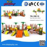 Verwendete Schloss-Serien-im Freienspielplatz-Geräten-Spiel-Zelle für Kinder