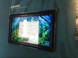32, 42, 43, 49, 50, 55, 65, 75, 85-Inch fixé au mur tous dans un kiosque infrarouge d'écran tactile