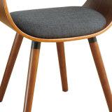 Драпирование Bentwood ткани обедая стул (W15857-2)