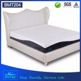 El OEM comprimido rueda para arriba el colchón gigante los 25cm altos con espuma de la memoria del gel y la cubierta de tela hecha punto