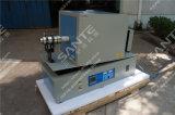 1400C rotación atmósfera del horno con tubo de 80 mm de alúmina tubo Dia y 1000 mm de longitud