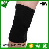 Supporto nero ortopedico del ginocchio del neoprene di stile della fabbrica 2017 della Cina (HW-KS031)