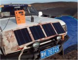 Générateur et chargeur solaires pour l'extérieur Using