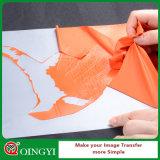 Qingyi weiches PU-Wärmeübertragung-Vinyl für Kleid