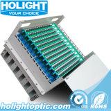 144 núcleos ODF montado cremalheira (tipo da gaveta)