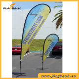 Tradeshow Aluminium Tube Impression numérique Flag Pole Banner
