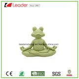 Nuove statue raccoglibili da tavolo Meditating del Figurine della rana di yoga per gli amanti della rana