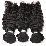 Человеческие волосы оптовой продажи верхнего качества естественные бразильские