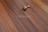 Carbonisé Color-Wash Strand tissé le sol en bambou lisse de vernis UV