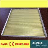 Алюминиевый декоративный ый крюк металла панели на Corrugated потолке