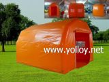 Opblaasbare Openlucht het Kamperen van de Familie Tent voor Verkoop (persoon 3-4)