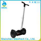 Dévoiler le scooter électrique d'équilibre d'individu de roue de la batterie au lithium 4.4ah deux