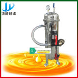 Macchina nera del filtrante di purificazione dell'olio