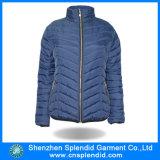 Оптовая торговля женщинами моды одежду синего цвета с мягкими вставками для установки вне помещений зимние куртки