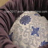 제조자 OEM 자수 개 둥근 침대 방석 견면 벨벳 사치품