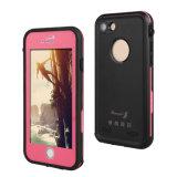 Самые новые чернь Lifeproof Fre водоустойчивые/крышка случая Xlf сотового телефона на iPhone 7 добавочных 5.5inch (RPXLF-7P)