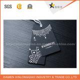 Подгонянная одежда одежды стикера цены напечатала бирки Hang печатание ярлыка