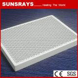 Placa cerâmica das telhas cerâmicas do favo de mel para o queimador infravermelho