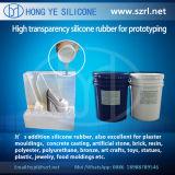 Alta gomma di silicone liquida trasparente per Protoytping