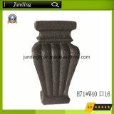 Quadratisches Roheisen/zentrale Muffen-bearbeitetes Eisen-Stahlmuffe