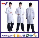 Fornitore unisex della Cina del tasto dello schiocco del cappotto del laboratorio