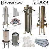 304 316 Acero Inoxidable SS Varios sanitarios de la bolsa de aire cartucho de membrana Lenticular vapor fabricante de la caja del filtro Duplex